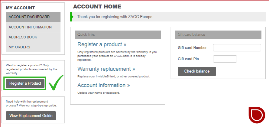 Zagg Com Register >> Zagg Com Register Register My Product At Www Zagg Com